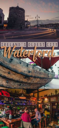 Best places to visit in Ireland. The oldest city in the country! Check out this guide for best things to do in Waterford Ireland. #ireland #europetrip #irelandtravel