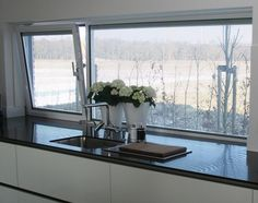 zonwering geïntegreerd in glas Window Coverings, Roman Shades, Blinds, Windows, Curtains, Screens, Home Decor, Kitchens, Houses