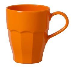 Rice Curved Mug orange 7