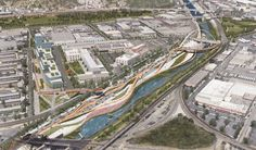 7 Firms Reveal Plans for Los Angeles River Revitalization