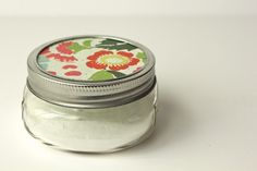 DIY air freshener 1/2 C baking soda 8-12 drops essential oils (orange, lemon my fav's) Mixed together add to small mason jar and use a decorative paper with pin holes in the top covered with the jar ring.  And enjoy the sweet smell!