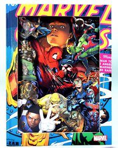 rokoro.co.uk, Ultimate Spiderman Comic Book Sculpture on ArtStack #rokoro-co-uk…
