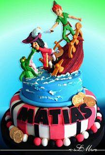 Peter Pan Cakes for Children's Parties