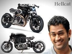 It is no secret that Indian cricket captain Mahendra Singh Dhoni is an avid car and bike lover. He has a huge collection of vehicles which include 10 cars and 16 motorcycles. The latest vehicle to enter Dhoni's stables is a Hellcat X132 super bike.