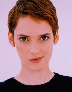 Winona Rider.  I've been told I look like her
