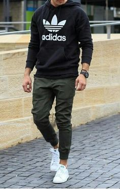 Adidas Fashion Hoodie - Men's Fashion