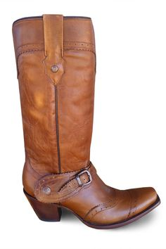 Corral Boots Saltillo with Harness Cowgirl Boot | Snip Toe