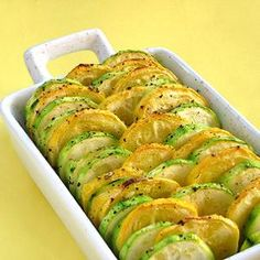Roasted Summer Squash recipe can't be simpler