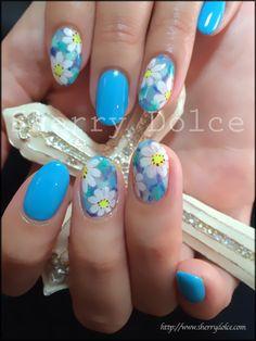 『Blue Flower☆Nail』