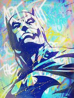 Batman Graffiti