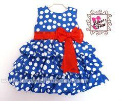 Toddler girl dress - vestido pra menina - http://www.elo7.com.br/vestido-balone-galinha-pintadinha/dp/26B857
