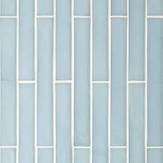 """Oceanside Glasstile...Collection Name: Elevations...Color Name: Moonstone Non-Iridescent 102...Item Description: 1 1/4"""" x 10""""...Pieces per Square Feet: 12...Piece Size: 1 1/8"""" x 9 3/4""""...Thickness: .41""""...Sample Item Number: 24146"""