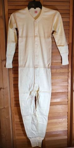 Vintage Union Suit Hanes Heavy Weight Children's New Old Stock Size 34 HTF  | eBay