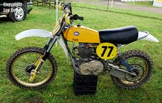 1977/78 CCM 500cc Motocrosser.  Clews Competition Machinery were 4-stroke before 4-stroke was cool.