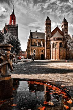 Vrijthof, Maastricht, Limburg, The Netherlands