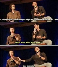 J2, always, always J2. And would you look at that, Jensen just singlehandedly crushed Jared's dreams.