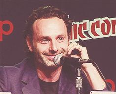 Andrew Lincoln Smile Please repin & like :) Follow on twitter http://www.twitter.com/noelitoflow #noelitoflow