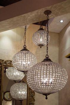 All Kinds of Lighting -- Crystal Pendant Lights