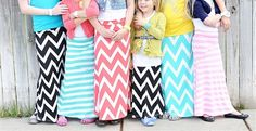 Shar's Little Lady Maxi collection: 5 colors