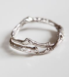 Double Silver Branch Ring by Kajs on Scoutmob Shoppe