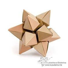 This is the gallery of Lukasheva Ekaterina paper art. I adore modular origami technique, kusudamas and papercraft geometric objects. You can find here visual ideas, some diagrams and tutorials of my beautiful kusudamas. Origami Yoda, Origami Star Box, Origami And Kirigami, Origami Ball, Origami Dragon, Paper Crafts Origami, Origami Stars, Origami Flowers, Origami Boxes