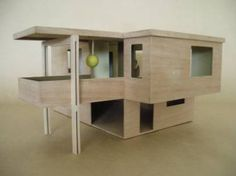 Gidon Bing Resene Architectural Model 1