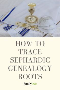 "We'll show you the ""other side"" of Jewish genealogy, which for too long has been Eastern European-centric, and help you discover your Sephardic family history."