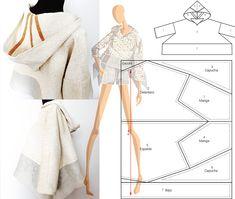 Aprende a usar la técnica zero waste en la confección de prendas y aprovecha toda la tela para ahorrar,reducir,reciclar y no contaminar el medio ambiente.