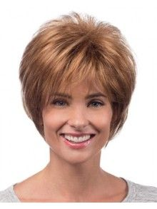 Soft Layers Capless Synthetic Hair Wigs