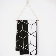 This stylish, reversible geometric throw is a great way to keep warm on movie nights and weekends in. Made locally and constructed from super-soft fabric, it's both cosy and decorative. Hertex Fabrics, Soft Fabrics, Geometric Throws, Birthday Wishlist, Keep Warm, My Room, Monochrome, Charcoal, Home Decor