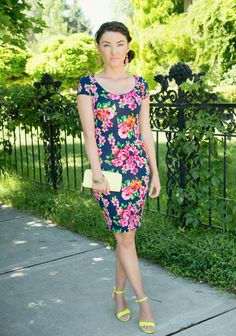 Ciao Bella featuring a Ruby Claire Boutique summer floral dress