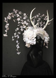 Winter Wonderland Headdress with by MissGDesignsShop