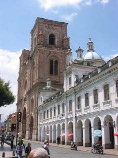 Cuenca, Ecuador. Home for one and a half months. :)