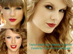 Taylor Swift Eye Makeup Tutorial: Celebrity Tips For Small Eyes
