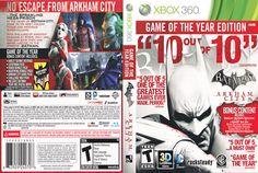 batman arkham city game cover    covers batman arkham city game of the year edition batman arkham city ...