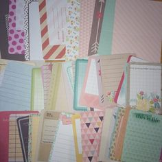 Becky Higgins Project Life - Core Kit Sampler - 60 cards - Dear Lizzy 5th & Frolic