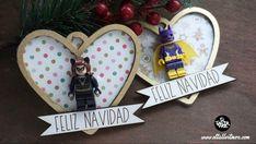 Lego , lego diy, figuras lego, decoracion lego, regalos con lego ... Lego Lego, Christmas Ornaments, Holiday Decor, Diy, Home Decor, Lego Christmas, Merry Christmas, The Creation, Blue Prints