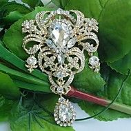 Women Vintage/Party/Casual Alloy/Rhinestone/Cryst... – AUD $ 27.31