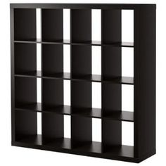 Ikea Expedit Bookcase Room Divider Cube Display - $199 +$91.99 shipping (amazon.com)  Add bins for toy storage