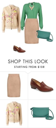 """""""зеленая"""" by gerusm on Polyvore featuring мода, Tom Ford, Frye, Etro, FOSSIL и Kendra Scott"""