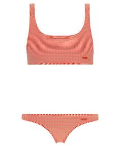 VALENTINE - STRIPE RED *IN REGULAR OR CHEEKY BUM* - TOP – Triangl