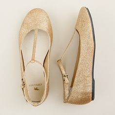 Flower girl shoes??? But navy blue...may have to buy plain and do the glitter myself.