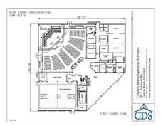 Small Church Building Plans | Church Building Plan 44-1081/600-18 - Church Plan Source : Church Plan ...