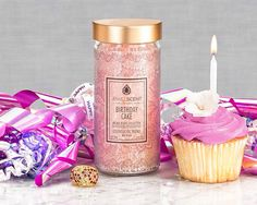 ***Birthday Cake Aroma Beads*** Indulge in the delicious aroma of decadent birthday cake! This sweet cake scent has a bold vanilla presence with hints of fresh butter, creamy anisic notes and warm sugar vanilla. Soy Candles, Scented Candles, Fragrant Candles, Aroma Beads, Birthday Cake With Candles, Jewelry Candles, Wax Tarts, Luxury Candles, Sweet Cakes