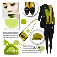 """""""Untitled #115"""" by e-mina-87 ❤ liked on Polyvore featuring Marc by Marc Jacobs, Charlotte Olympia, Essie, Lauren B. Beauty, Faliero Sarti and Burberry"""