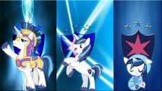 3 Shining Armors by *Macgrubor on deviantART