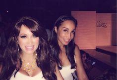 Patricia and Sabrina Fashion Week