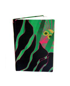 Large Luxury Notebook- Jungle Large luxury notebook wrapped in Beautiful Modern Love fabric. Perfect for note taking, sketching or as a journal… Measurements: Modern Lov A5 Notebook, Modern Love, Spring Green, Notebooks, Scarves, Luxury, Fabric, Inspiration, Tela