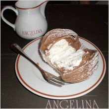 "Mmmmmmm.... le ""Mont Blanc"" de chez Angelina, rue de Rivoli ! - 