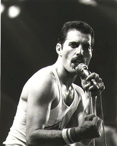 Freddie Mercury- (born Farrokh Bulsara; Gujarati: ફરોખ બલ્સારા, Pharōkh Balsārā); 5 September 1946 – 24 November 1991) British musician, singer and songwriter, best known as the lead vocalist and lyricist of the rock band Queen.  The official cause of death was bronchial pneumonia resulting from AIDS.